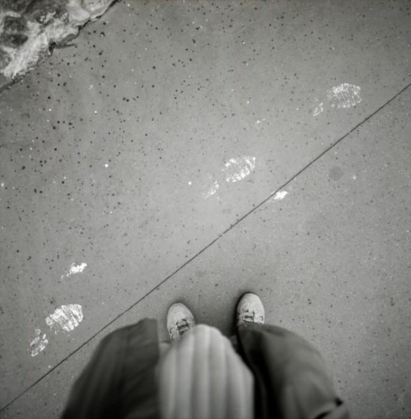 A mes pieds...