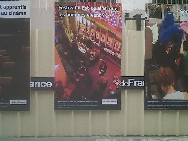 Exposition façade région Ile de France