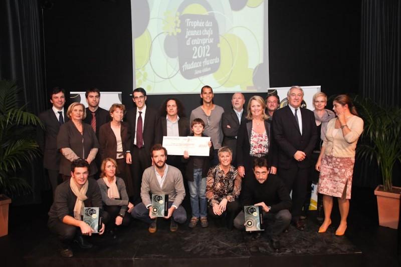 Tous les lauréats de la cession 2012