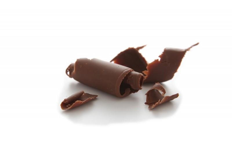 Copeaux de chocolat au lait